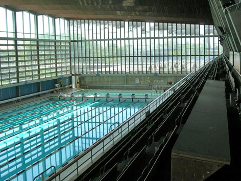 NSC pool refurbished June 2009