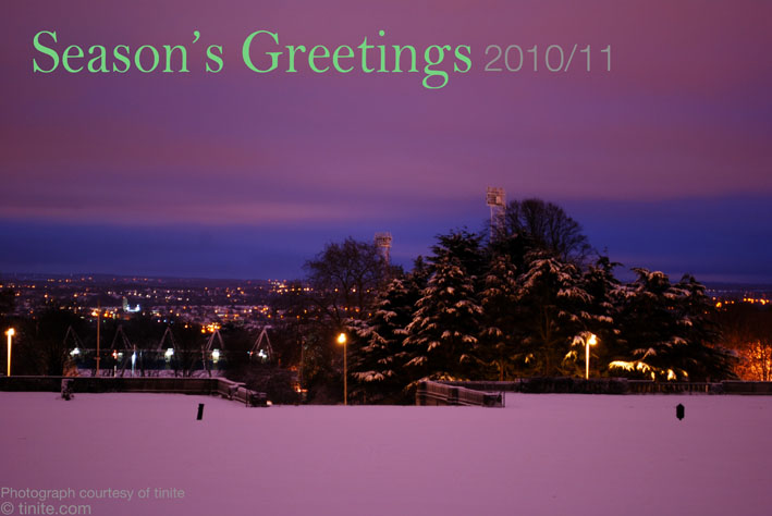 seasons greeting 2010/2011
